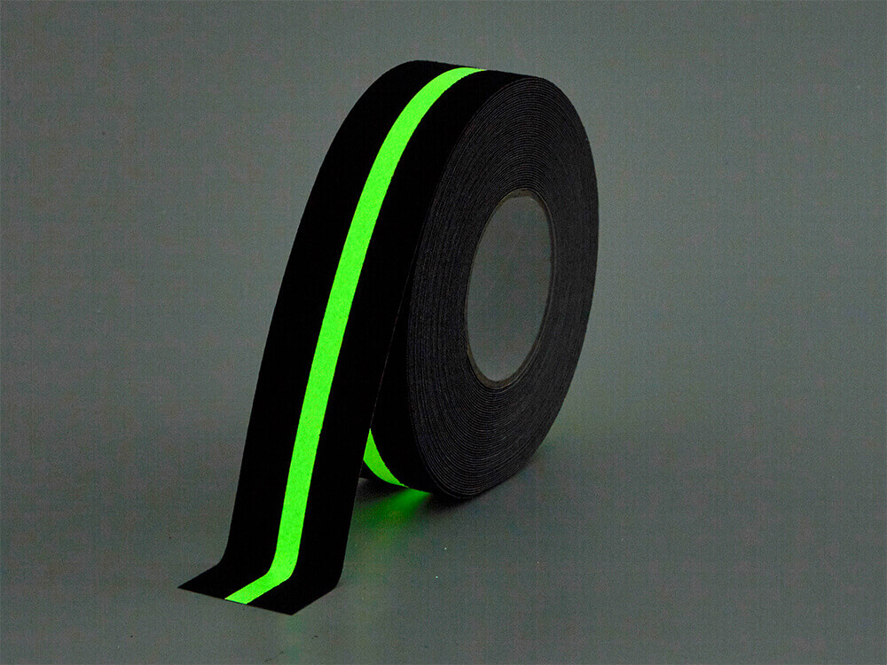 Glow In Dark Safety Tape Anti Slip Traction Grip Friction Abrasive Adhesive tape